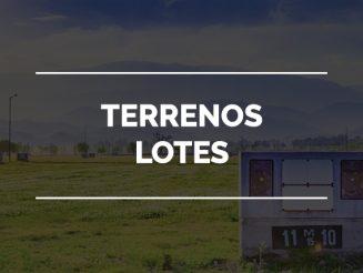 TERRENOS - LOTES